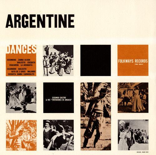 Segundo Castro - Folk Dances and Dance Songs of Argentina [New CD]