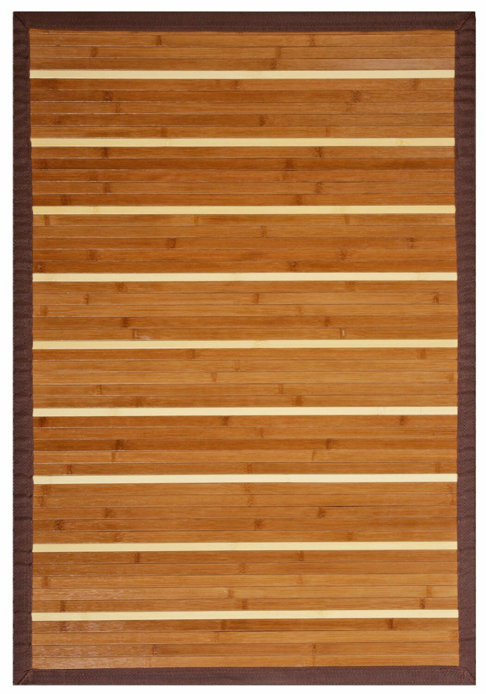 anji mountain amb0050-0058 premier bamboo rug 5 x 8 | ebay
