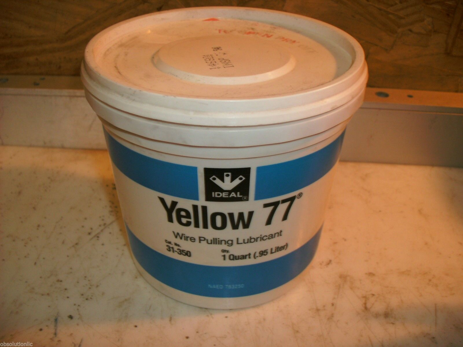 Ideal Yellow 77 Wire Pulling Lubricant 1-quart Tub 31-350 | eBay