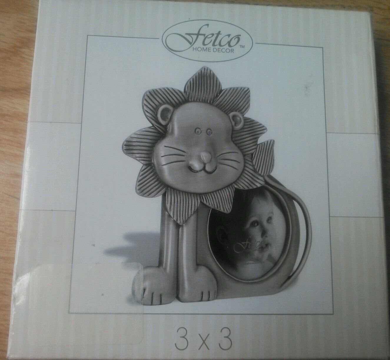 Happy jungle lion fetco pewter picture photo frame 289333 round picture 1 of 6 jeuxipadfo Gallery