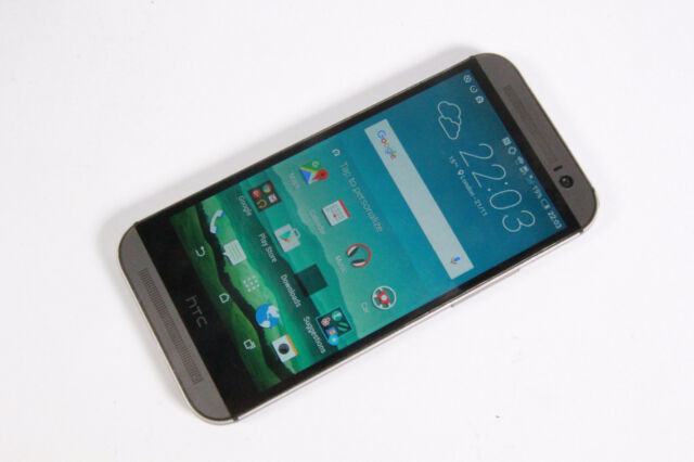 HTC One M8 - 16GB - Metallic Grey (Unlocked) GOOD CONDITION, GRADE B