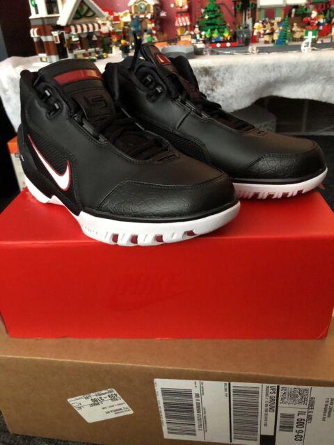 Mens Nike Air Zoom Generation Retro QS AJ4204-001 King's Rook Lebron Size 9