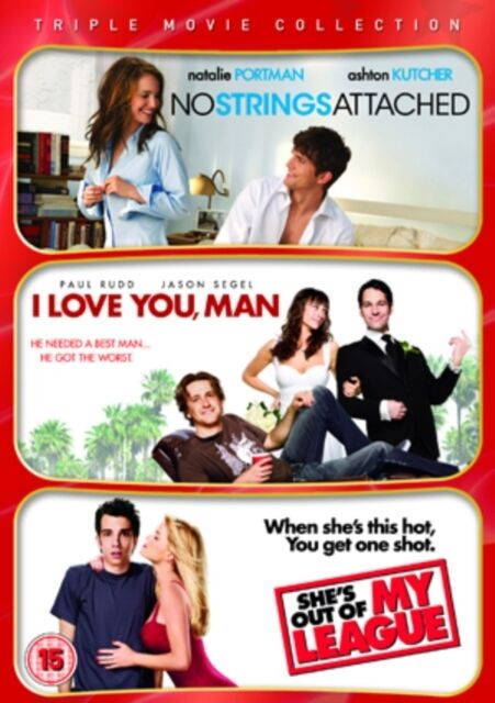 No Strings Attached / I Love You Man / She's Out of My League Tri. 501443717393.