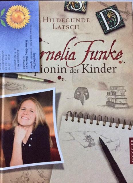 Buch HC Biografie Cornelia Funke - Spionin der Kinder von H Latsch, Neuwertig