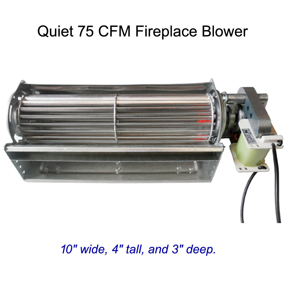 bbq factory replacement fireplace fan blower for heat surge
