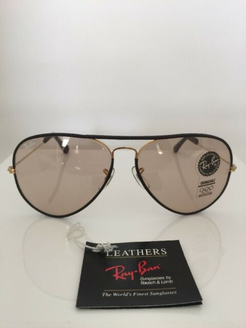b3707c3f29 Vintage Ray Ban Aviator Leather « Heritage Malta