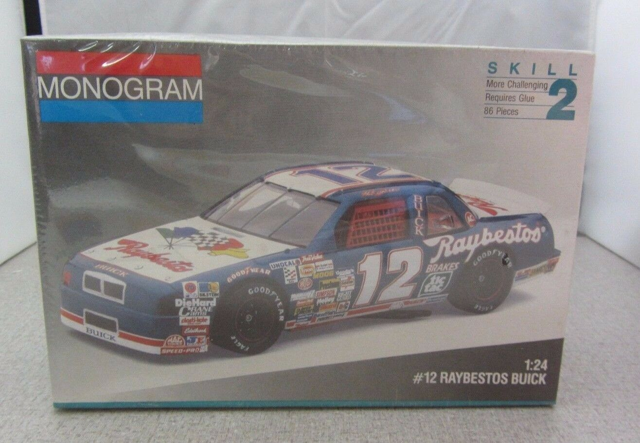 Raybestos #12 Buick NASCAR 124 Scale Model Kit #2431 From Monogram