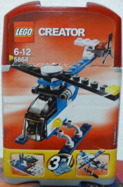 LEGO Creator MINI Helikopter 5864 + Bauanleitung + OVP