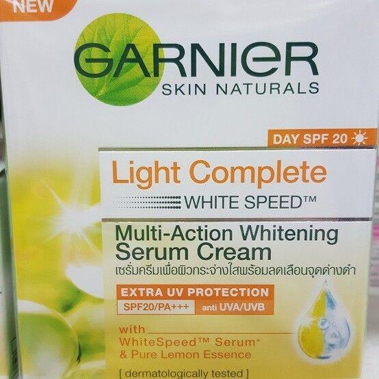 Garnier Light White Speed Skin Whitening Day Cream Serum