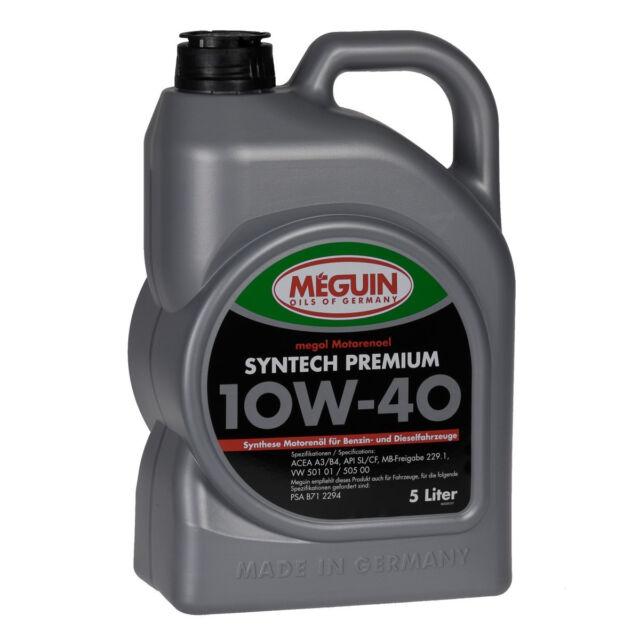 Meguin megol Motorenoel Syntech Premium SAE 10W-40 5L 4338