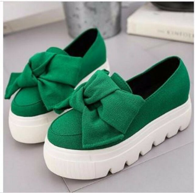 Moccasin Women Flat Loafers Casual Shoe Platform 5CM Sneakers Fashion Fringe New