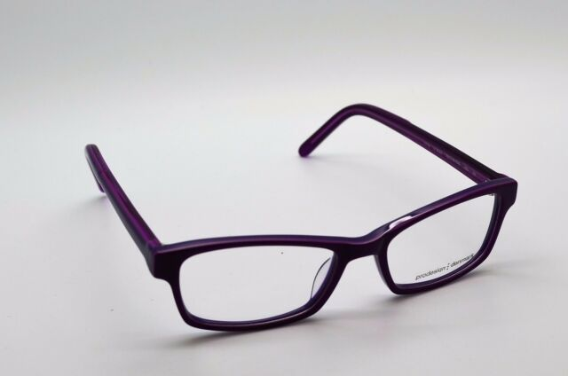 Auth PRODESIGN Denmark Japan 1719 C.3522 Purple Eyeglasses Frames | eBay