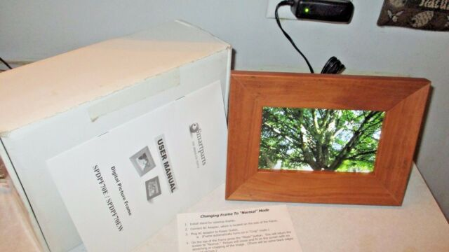 Spdpf70ew 7 Picture Digital Included Smartparts Frame Card Memory