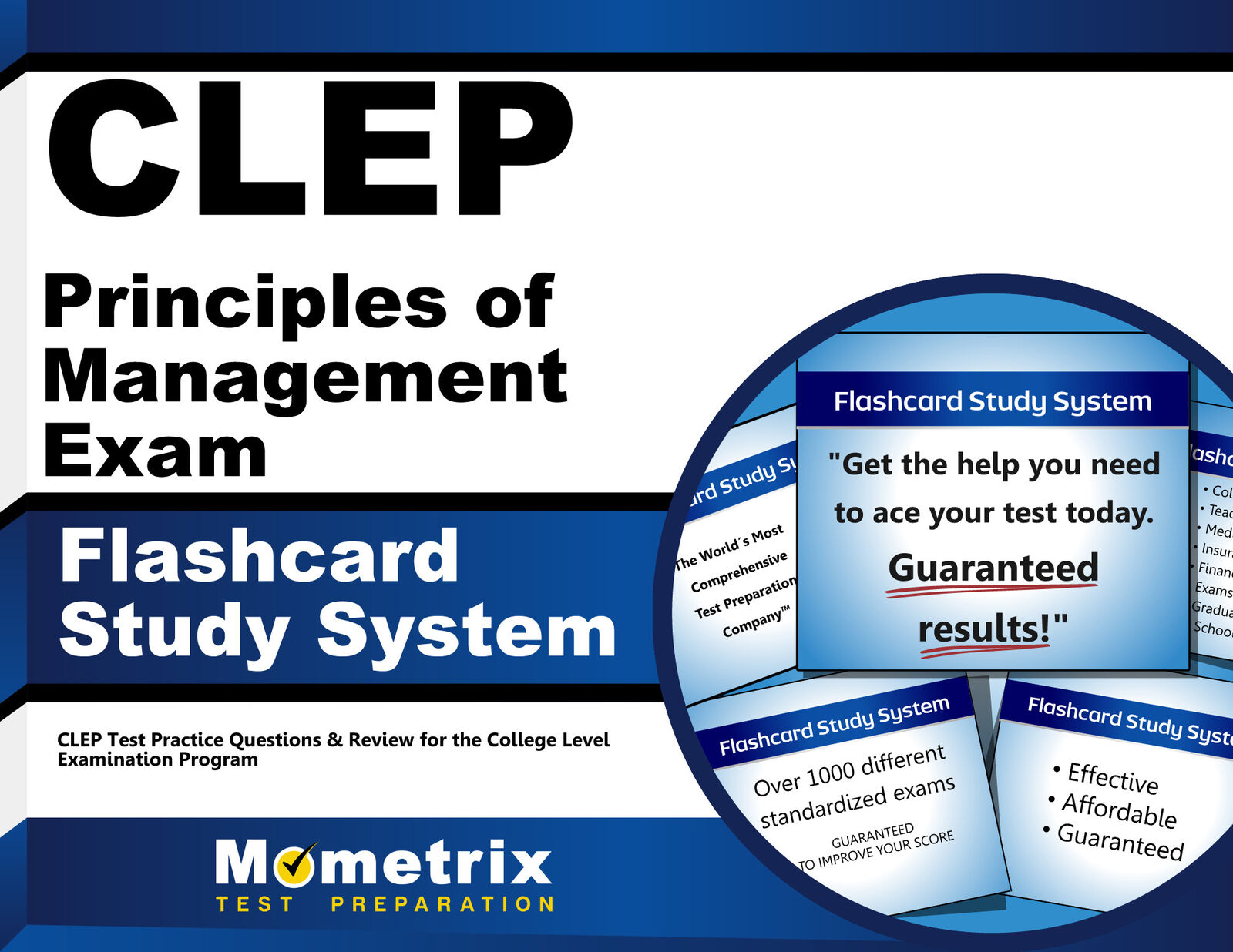 CLEP Principles of Management Exam Flashcard Study System : CLEP ...