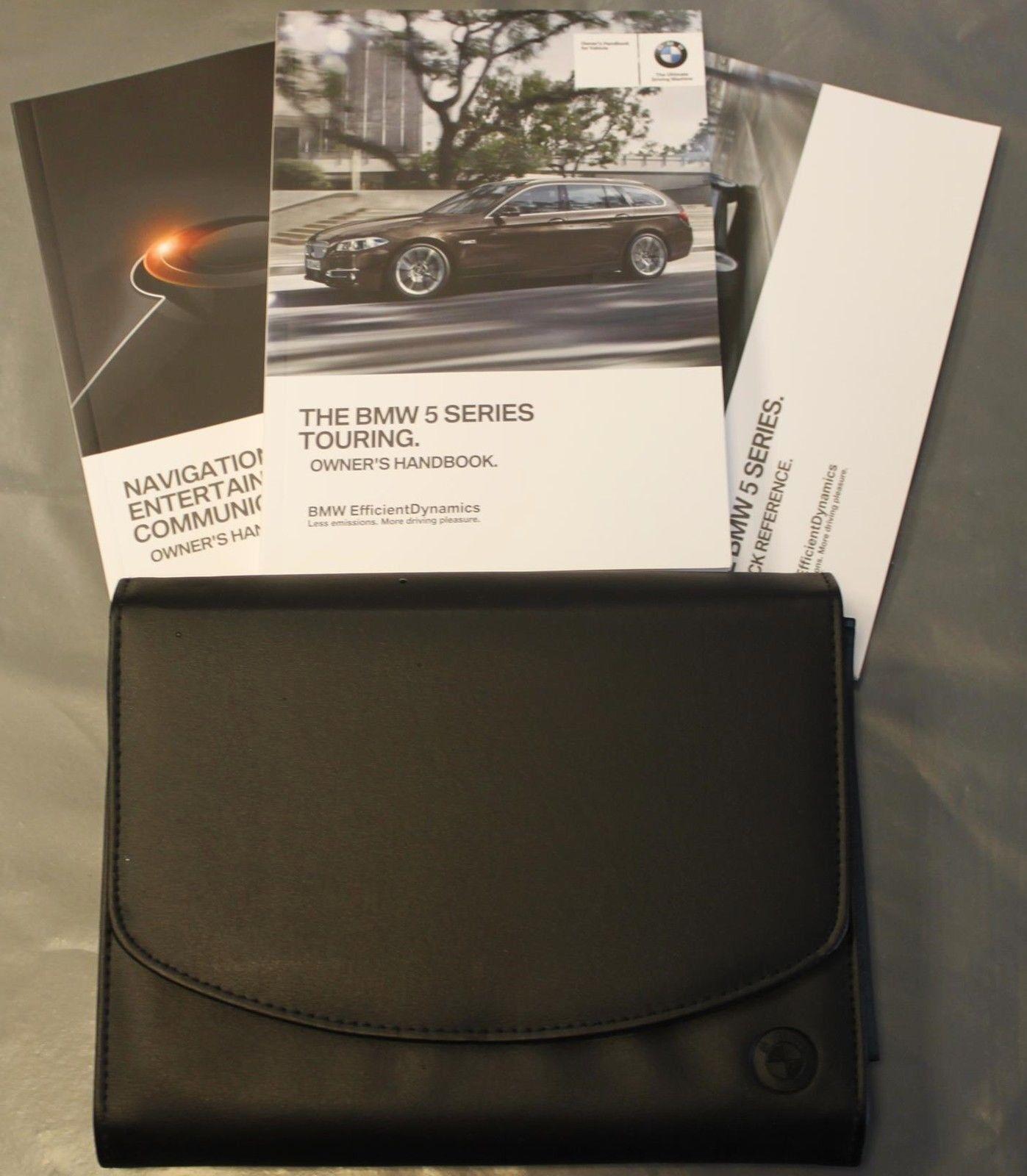genuine bmw 5 series f11 estate handbook navi audio owners manual rh ebay com BMW 5 Series Generations Next Generation BMW 5 Series