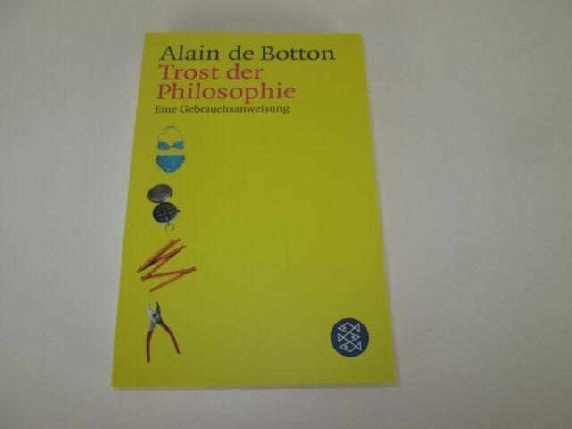 Trost der Philosophie von Alain de Botton / #h02