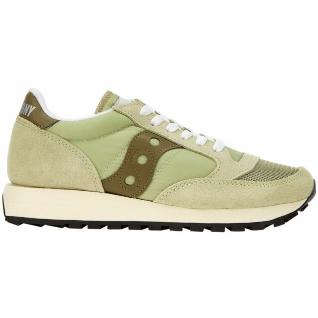 Saucony Jazz Original Vintage Donna Light Green Scarpe 7 UK