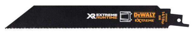 DEWALT FlexVolt Xtreme Runtime Metal Reciprocating Blades 203mm 14/18 TPI Pack o
