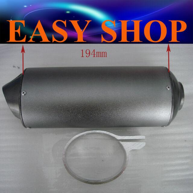 28mm Muffler Exhaust Pipe Clamp 50cc 110cc 125cc 150 PIT PRO Quad Bike Dirt ATV