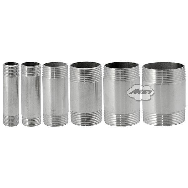 3/4  DN20 Male Threaded Stainless Steel SS 304 Pipe Fittings 75MM Length NPT  sc 1 st  eBay & 3/4
