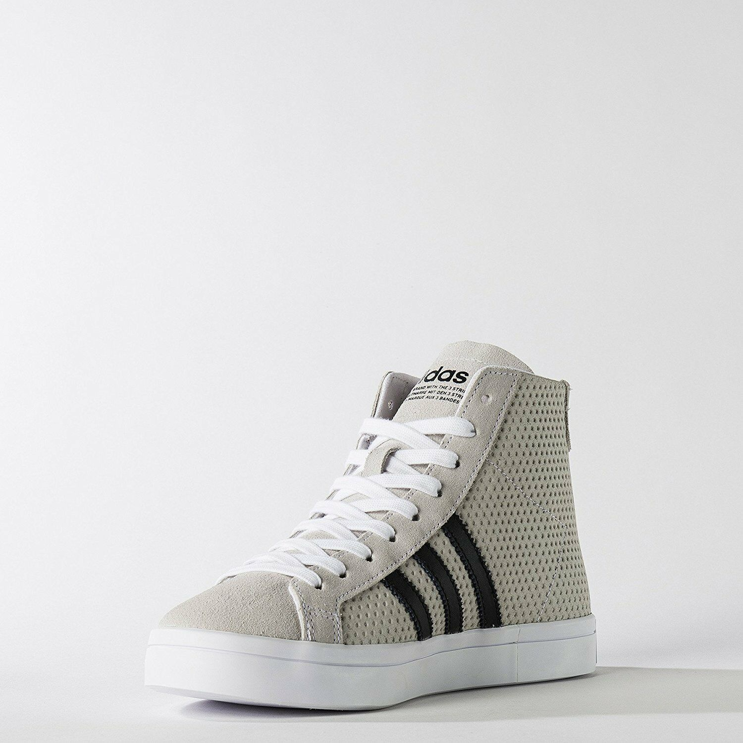 ~nib~Adidas COURT VANTAGE MID Shoes Honey Courtvantage Superstar~Womens size 8.5