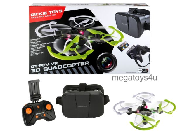 Dickie 201119434 - RC DT FPV-VR Quadrocopter, Kamerafunktion und Virtual Reality