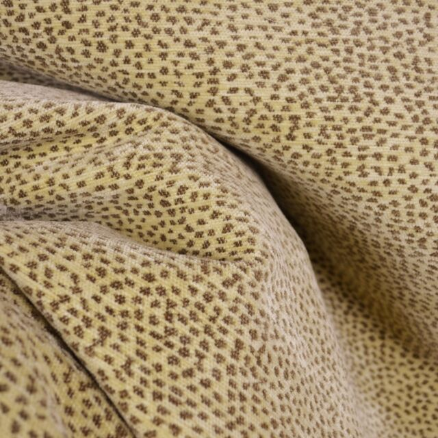 Siamese Nude Fawn Chenille Animal Print Reversible Fabric EBay - Chenille upholstery fabric