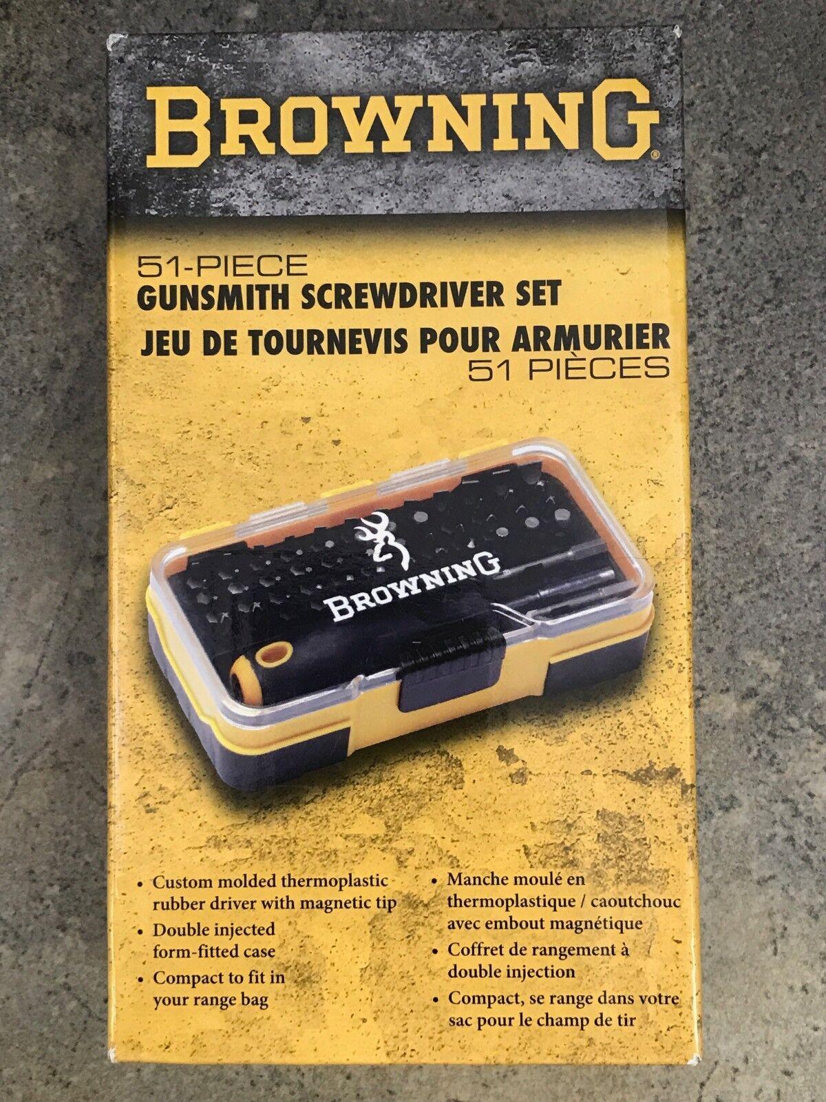 Browning Gunsmith Screwdriver Tool Set 12401 | eBay