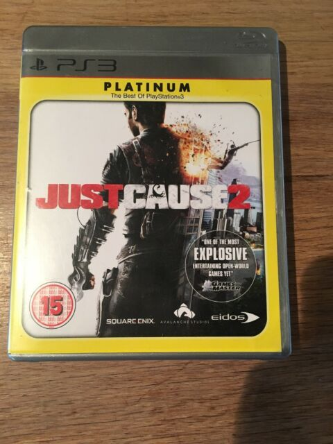 Just Cause 2 - Platinum edition (Sony PlayStation 3, 2010)