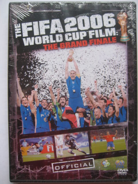 FIFA 2006 World Cup Film: The Grand Finale (DVD, 2006) NEW SEALED PAL Region 2