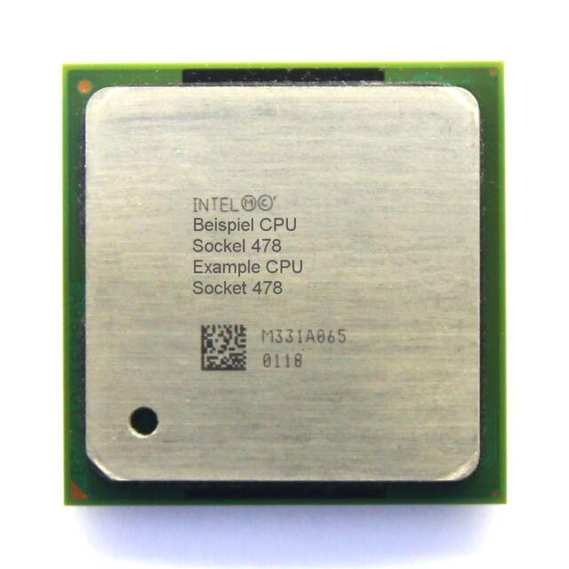Intel Pentium 4 SL6WH 2.60GHz/512KB/800MHz Socket/Sockel 478 Hyper-Threading CPU