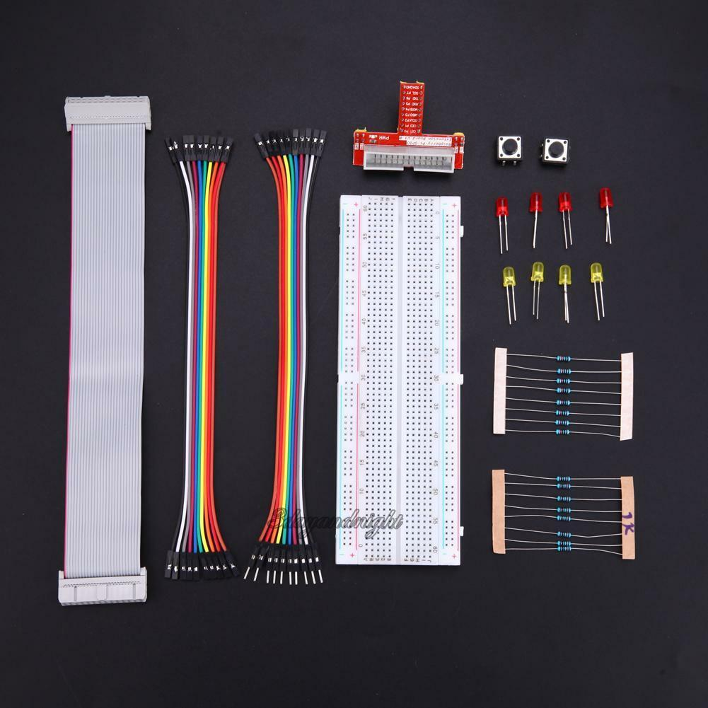 Primer External Expansion Bread Board Jumper Wire Kit for Raspberry ...