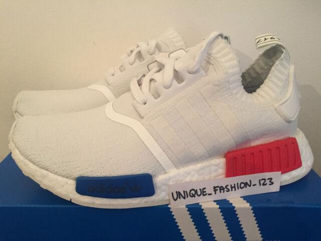 Adidas Nmd Primeknit Runner Spinta 5 6 7 8 White 9 10 11 Vintage White 8 Og 5e42f5