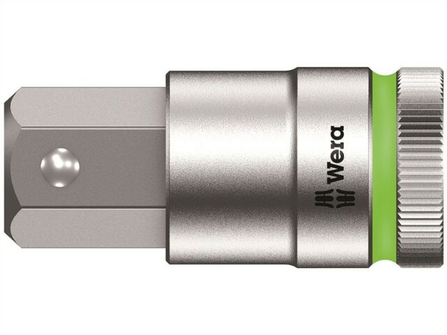 Wera 8740 C HF Zyklop In-Hex Screw Hold Socket 1/2in Drive 60mm length