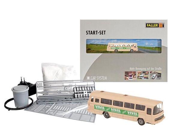 Faller HO 161501 Car System Start-Set VIVIL Bus Neuware