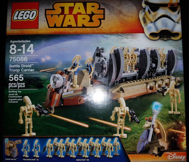 Lego Star Wars Battle Droid Troop Carrier 75086 | eBay