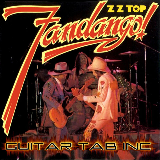 Zz Top Guitar Tab Fandango Lessons On Disc Ebay