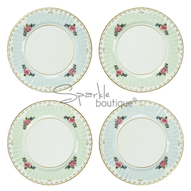 Talking Tables Truly Scrumptious Paper Dinner Plates Multi-colour ...