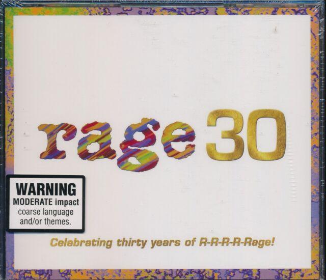 Rage 30 3-disc CD NEW Christine Anu Kylie Minogue Spears Pnau Presets Ceberano