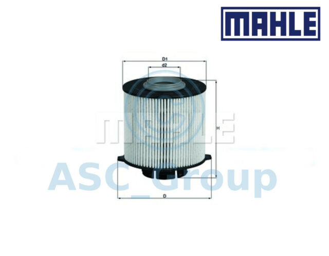 Genuine MAHLE Replacement Engine Filter Insert Fuel Filter KX 265D