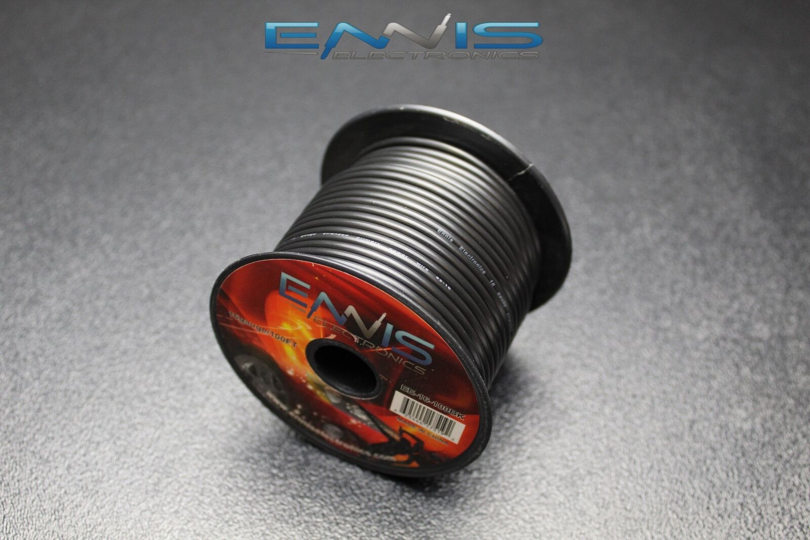 16 Gauge Wire by 100 FT Black Spool Primary AWG Copper Clad   eBay