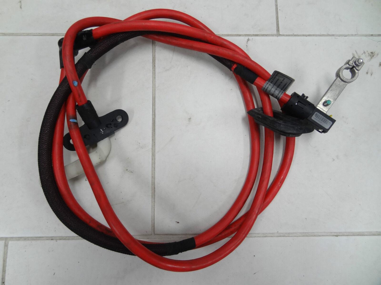 BMW E39 5er M5 Pluskabel Batteriekabel 1745230 Batterie Kabel rot | eBay
