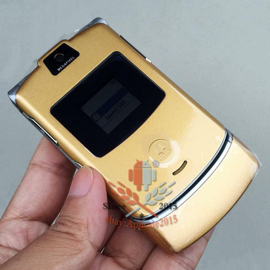 motorola razr gold. picture 1 of 6 motorola razr gold c
