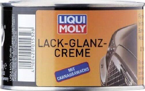 Liqui Moly 1532 Lack -Glanz - Creme 300g mit Carnaubawachs Lackreiniger Auto KFZ