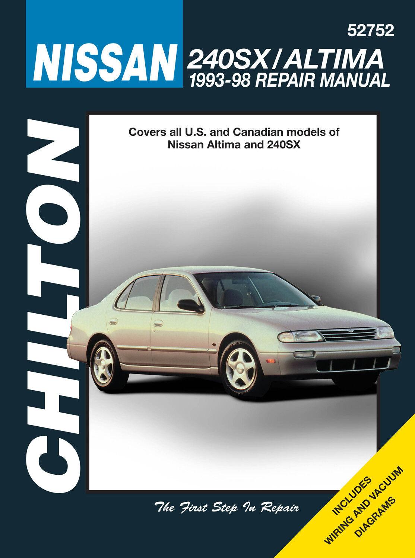 repair manual chilton 52752 ebay rh ebay com 1992 Nissan 240SX 1993 nissan 240sx owners manual