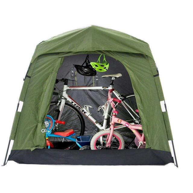 Quictent Heavy Duty Pop Up Bike Tent Storage Shed Quick Setup Garage Outdoor  sc 1 st  eBay & Quictent Heavy Duty Pop up Bike Tent Storage Shed Quick Setup ...