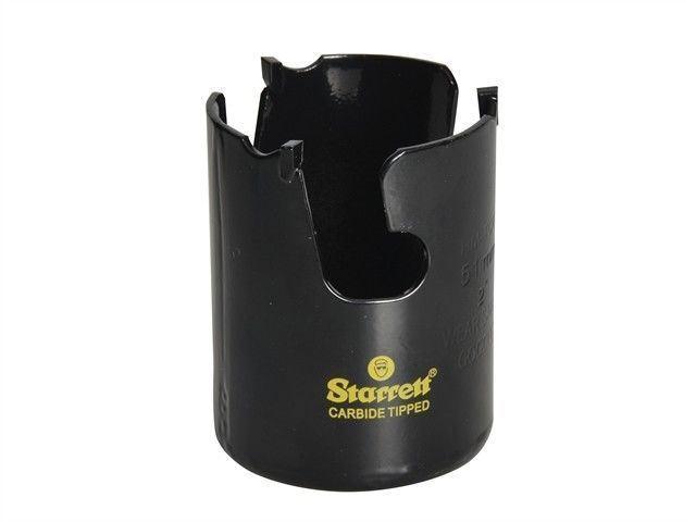 Starrett TCT Fast Cut Multi Purpose Holesaw. Cutting wood mdf plastics bricks