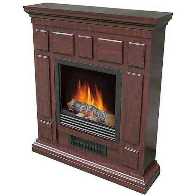 Find great deals for Decor Flame Electric Indoor Heatless Fireplace With 32 Inch Mantle Cherry. Shop with confidence on eBay!
