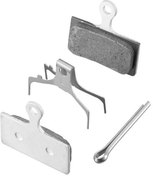Shimano G02A Bremsbelag für Scheibenbremsen inkl. Feder und Splint, NEU
