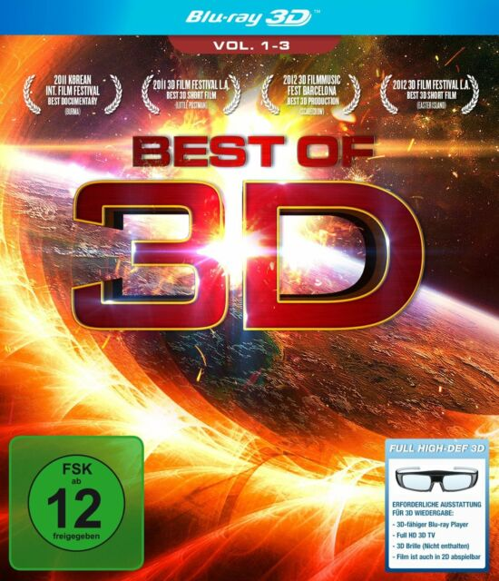 BEST OF 3D BLU-RAY VOLUME 1-3 DEUTSCH
